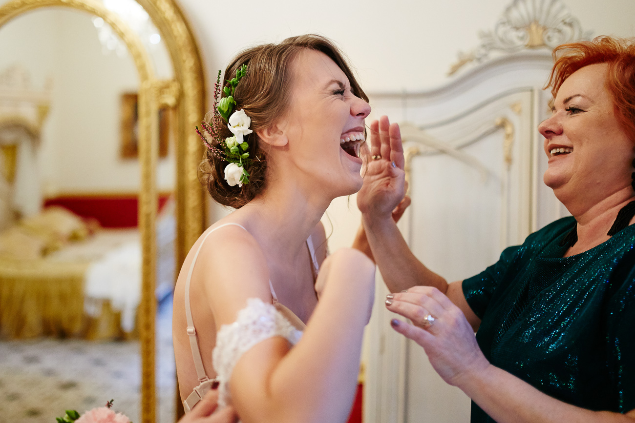 przygotowania do ślubu Asia i Michał - Grudziadz