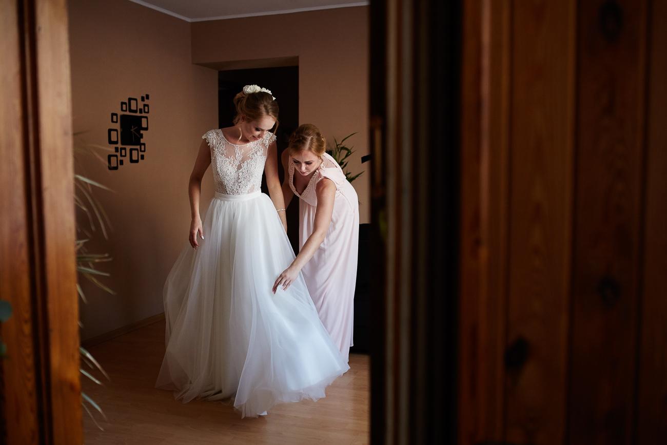 przygotowania do ślubu Daria i Adam - Osie