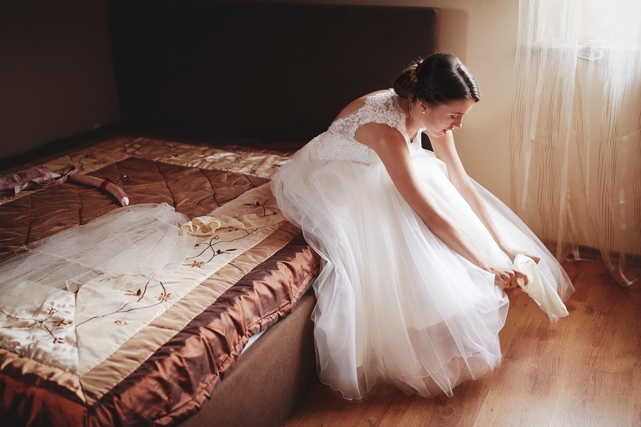 przygotowania do ślubu Michalina i Karol - Świecie