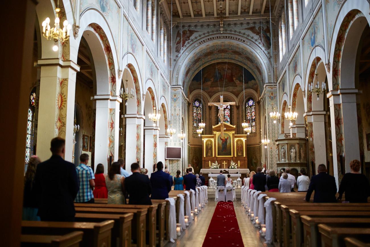 ślub Doroty i Pawła w Kwidzynie