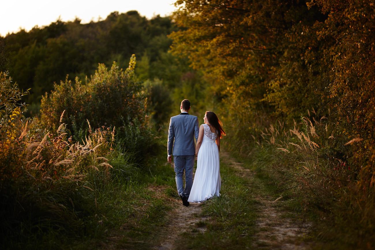 plener ślubny Doroty i Pawła w Kwidzynie
