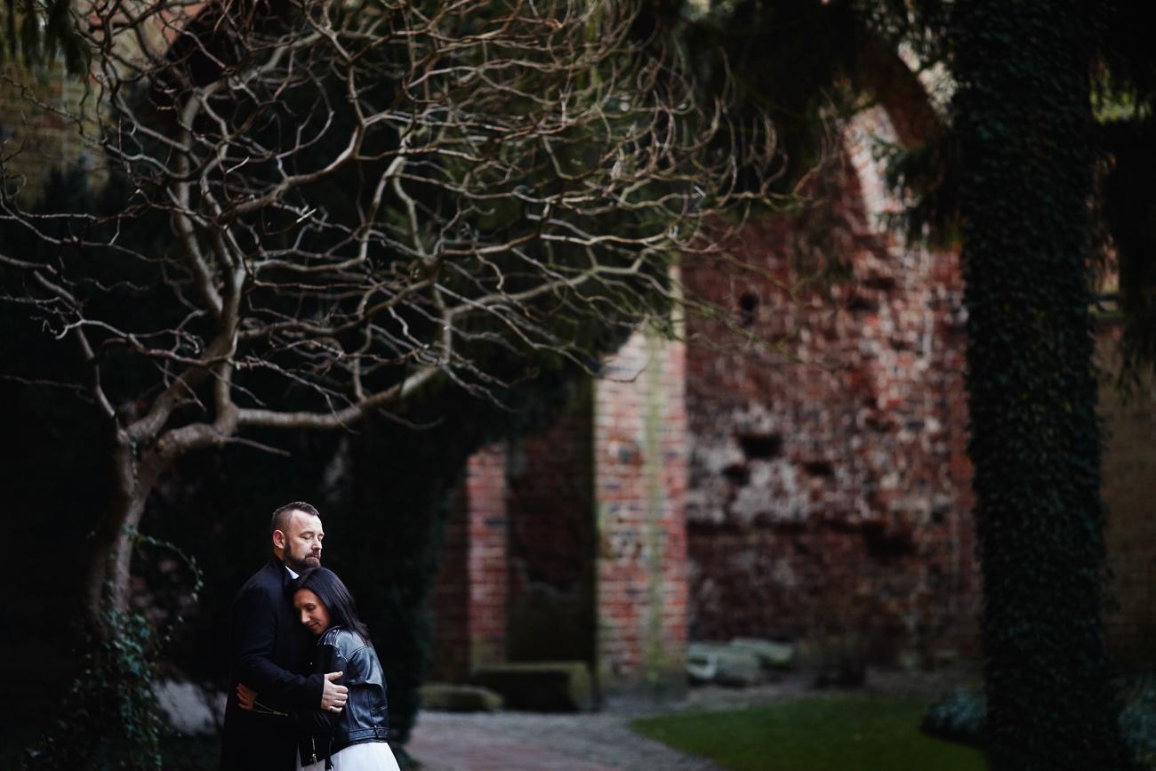 plener ślubny Kamili i Przemka w Malborku