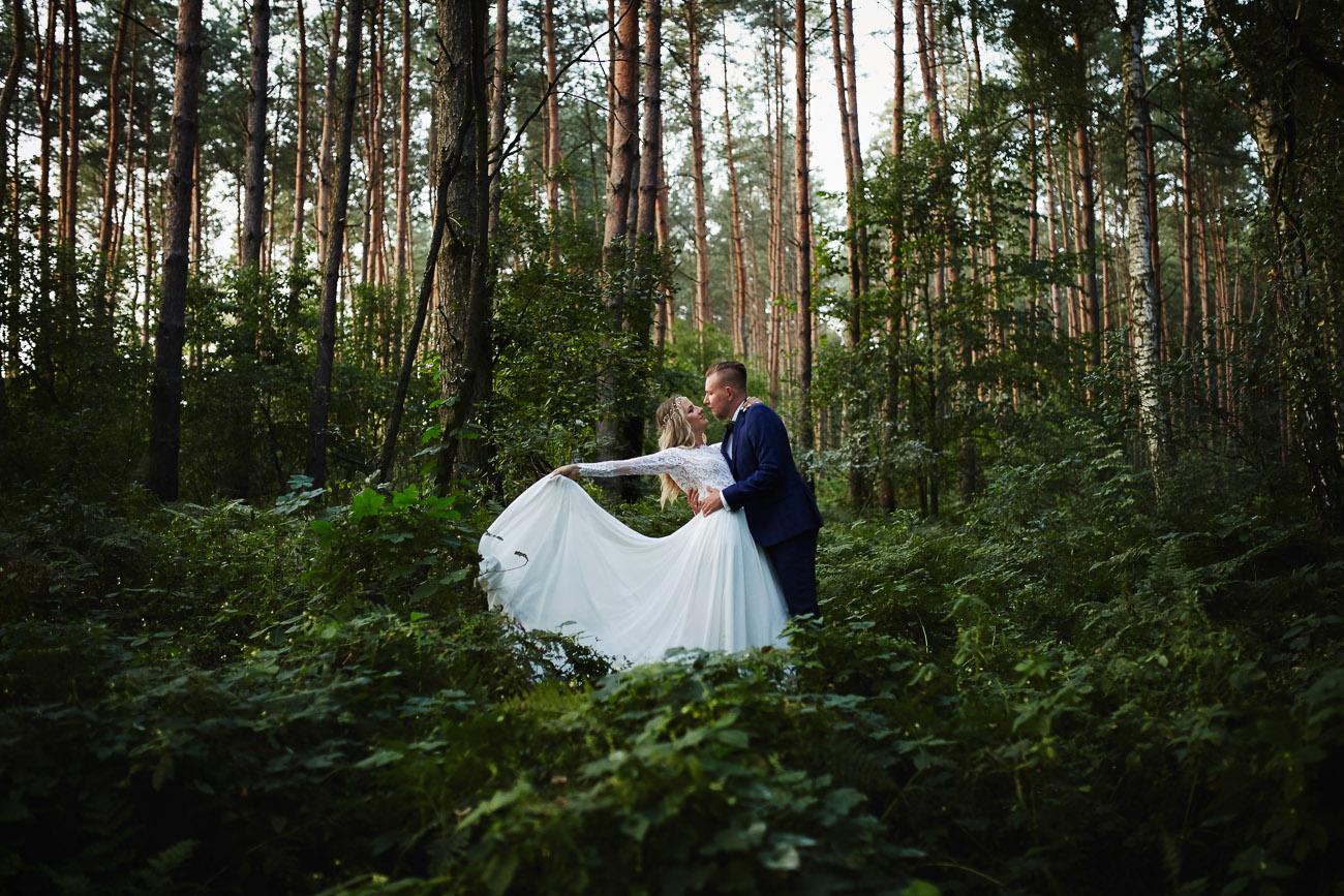 plener ślubny Sary i Marcina w Grudziądzu