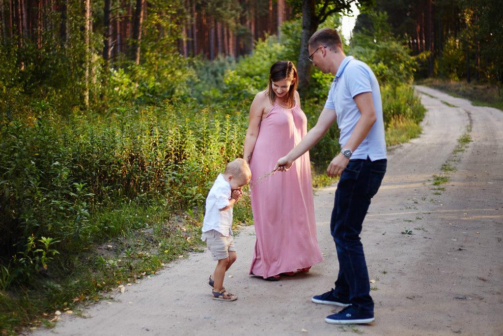Grudziądz-Plenerowa sesja rodzinna Agata & Arturek & Borys 2
