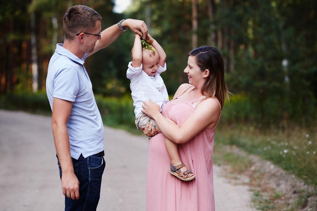 Grudziądz-Plenerowa sesja rodzinna Agata & Arturek & Borys 13