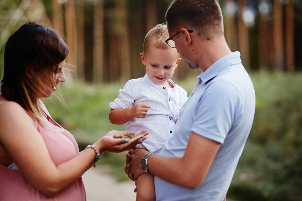 Grudziądz-Plenerowa sesja rodzinna Agata & Arturek & Borys 28