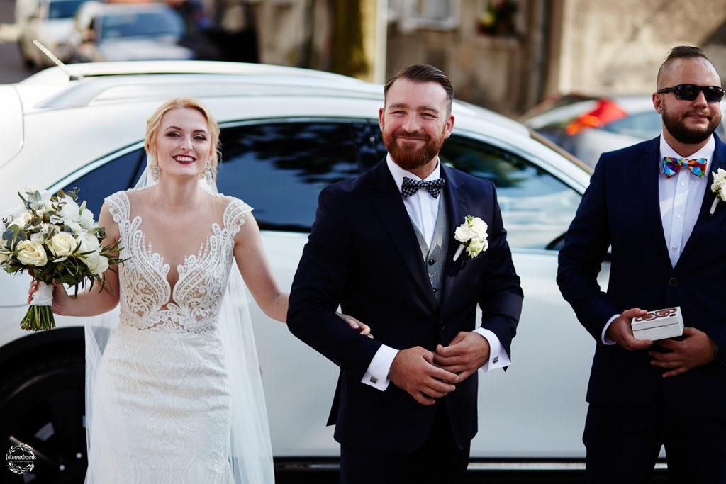 fotografia ślubna Grudziądz - para młoda przed ślubem