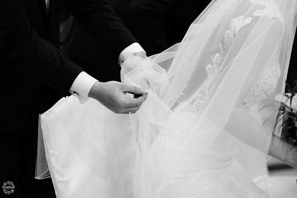 fotografia ślubna Grudziądz - świadek - welon