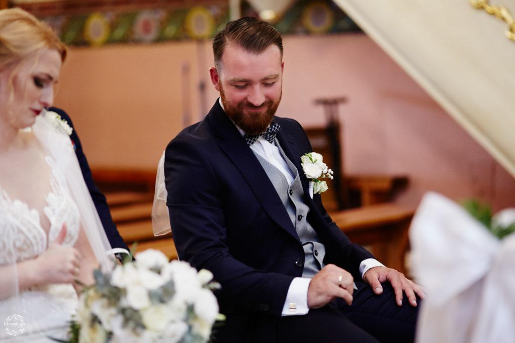 fotografia ślubna Grudziądz - para młoda po przysiędze