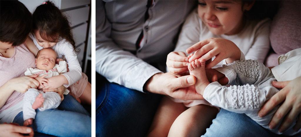 sesja rodzinna Grudziądz - sesja noworodkowa