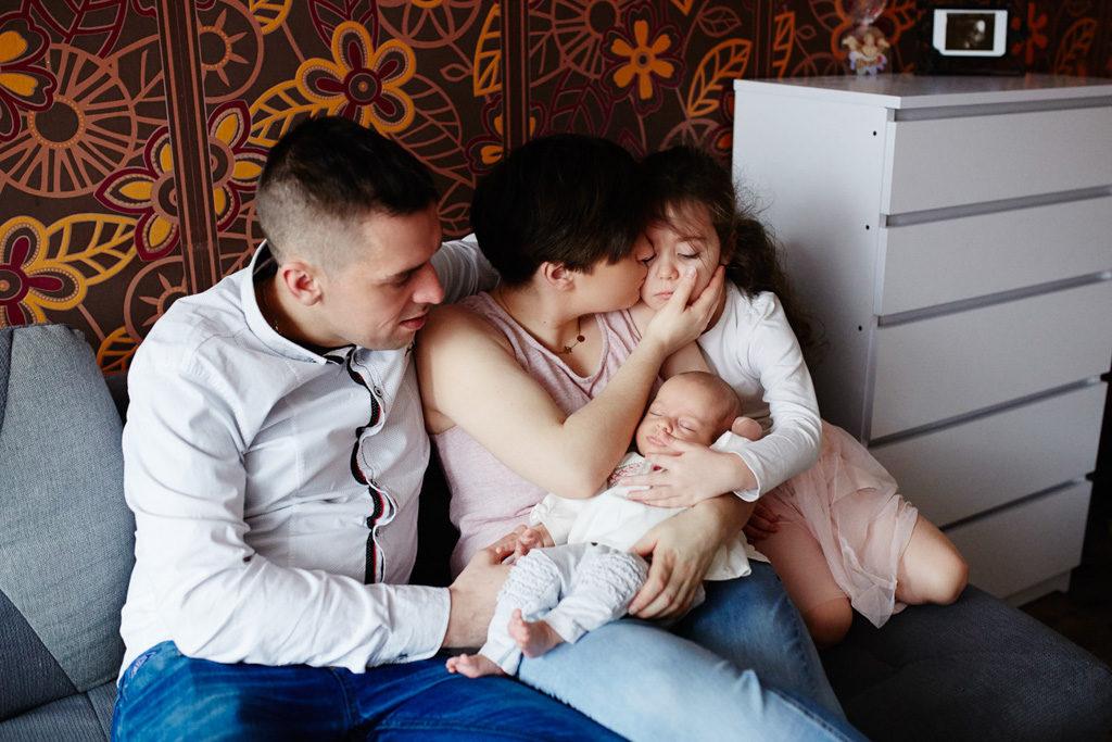 sesja rodzinna Grudziądz - cała rodzina