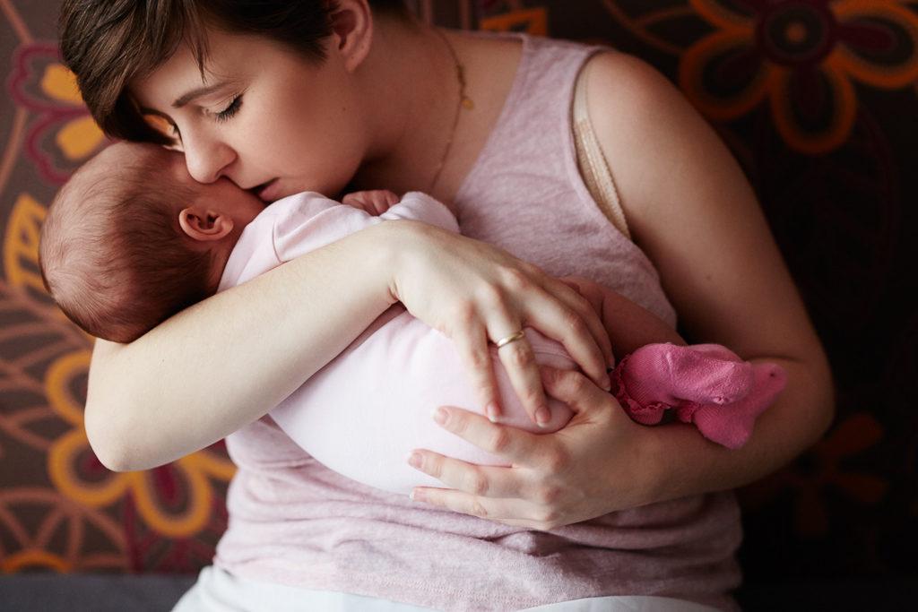 sesja rodzinna Grudziądz - mama z córką