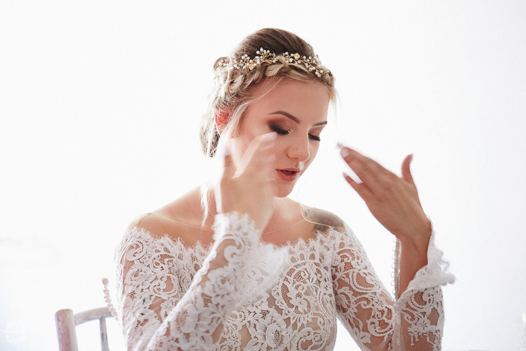 ślub i wesele w Grudziądzu - panna młoda