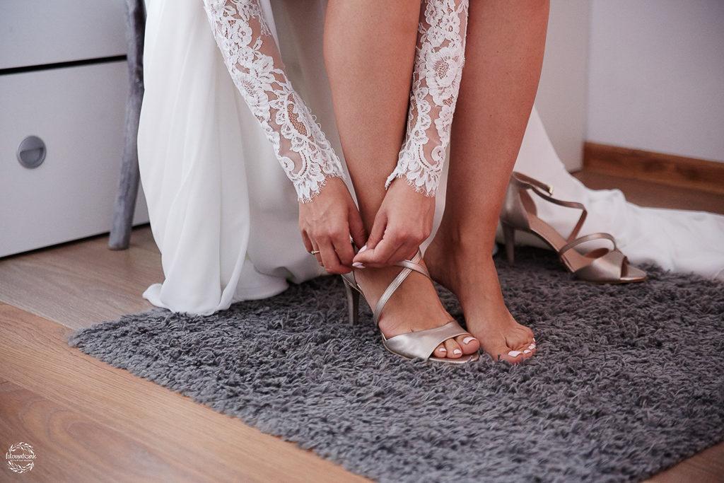 ślub i wesele w Grudziądzu - buty do ślubu