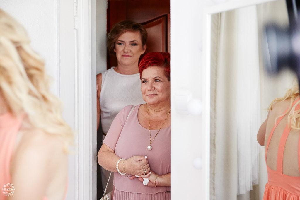 ślub i wesele w Grudziądzu - mama pana młodego