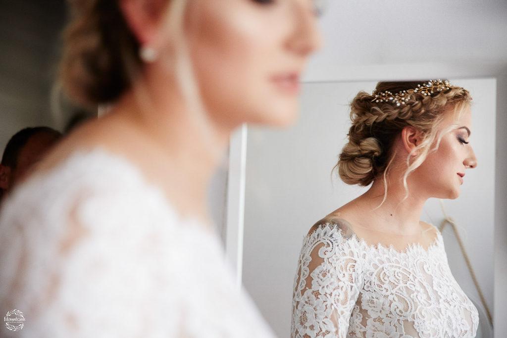 ślub i wesele w Grudziądzu - portret panny młodej