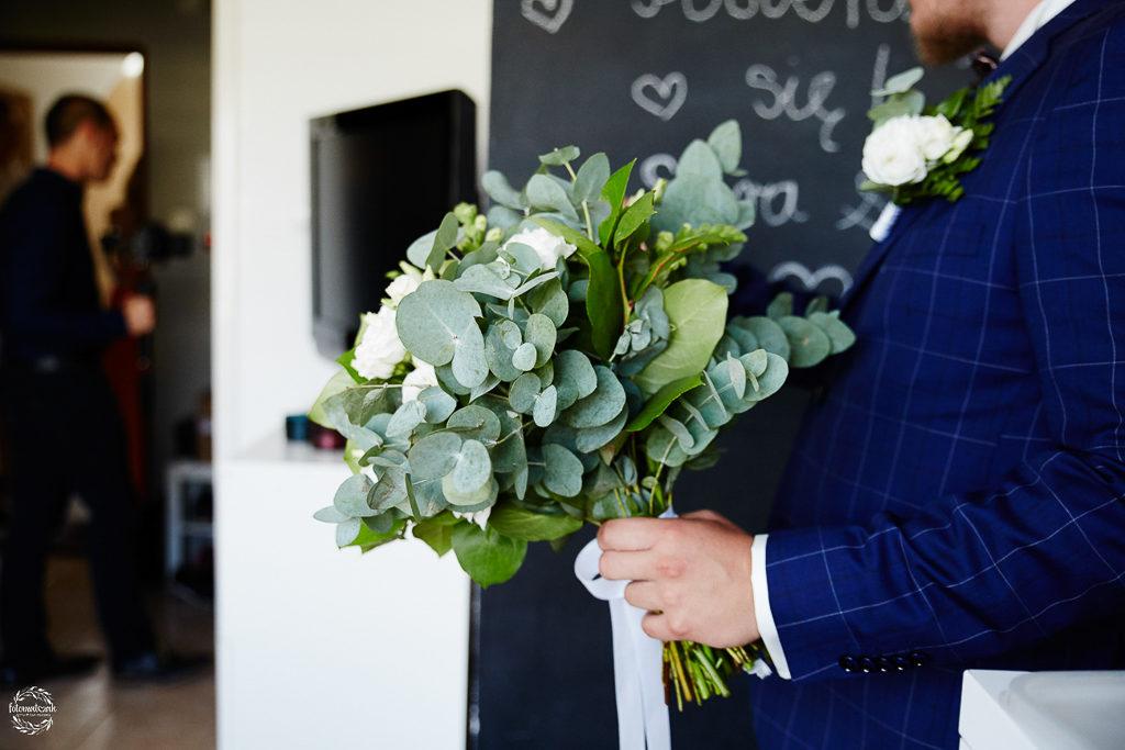 ślub i wesele w Grudziądzu - bukiet ślubny