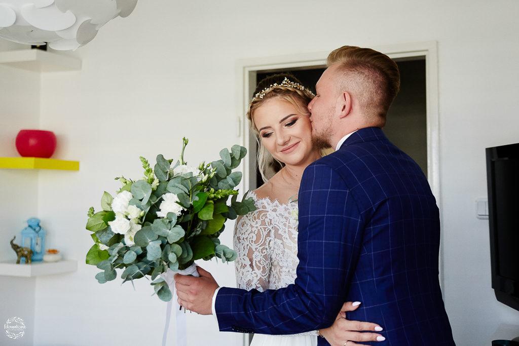 ślub i wesele w Grudziądzu - first look