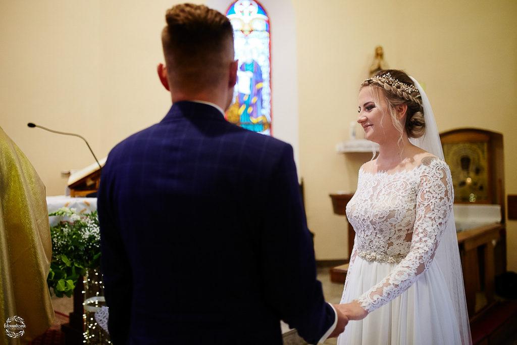 ślub i wesele w Grudziądzu - przysięga