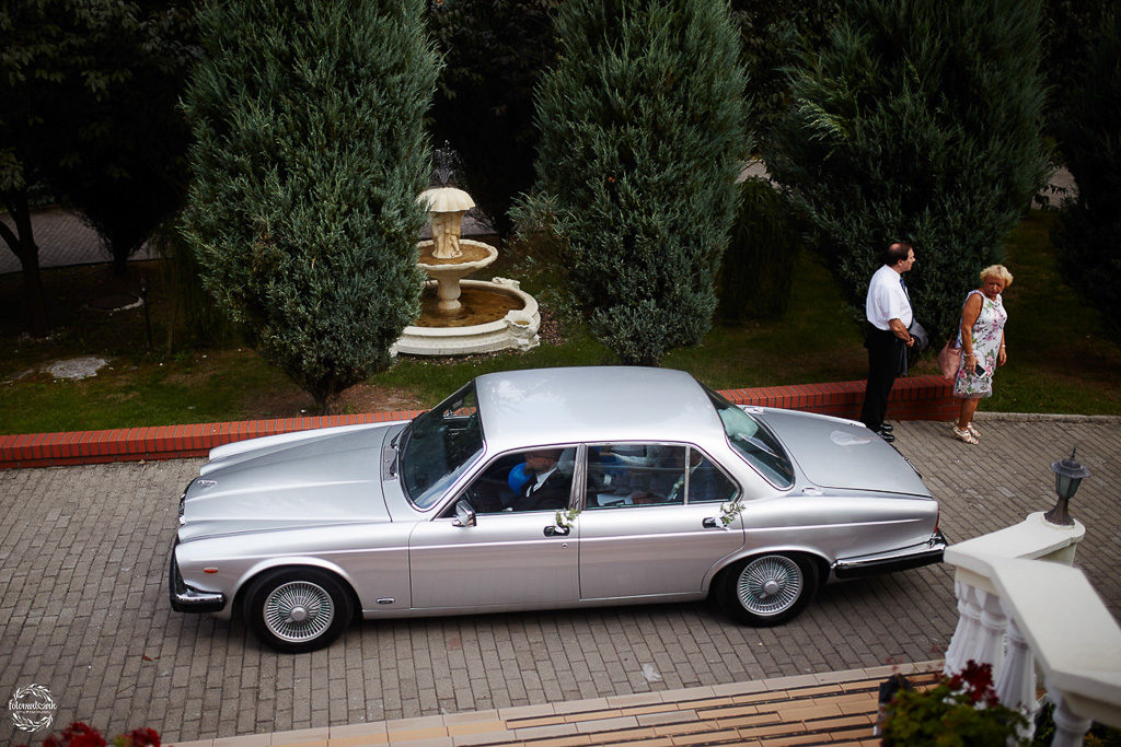 ślub i wesele Grudziądz - auto do ślubu